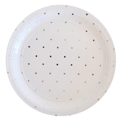 Silver Spot Plates (10 pack)