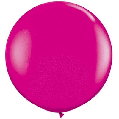 Wildberry Giant 90cm Round Balloon