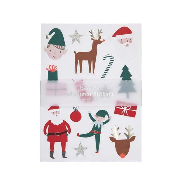 Christmas Icons Stickers (10 sheets)