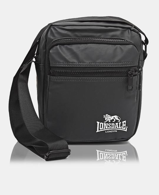 LONSDALE MESSENGER BAG - GREY