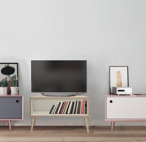 TV stand wooden furniture - Choose between our lovely Birch Ply which is a fine-grain timber with a rich sheen finish OR have a wipe-able Formica laminate applied to the inside. Shop this wood cabinet TV stand from our furniture department today. TV stand online shopping made easy with Localizedrsa!