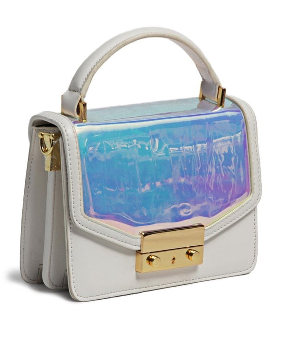Crossbody bag in white