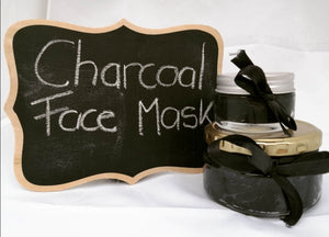 Raw Organic Skin Care-Activated Charcoal face mask