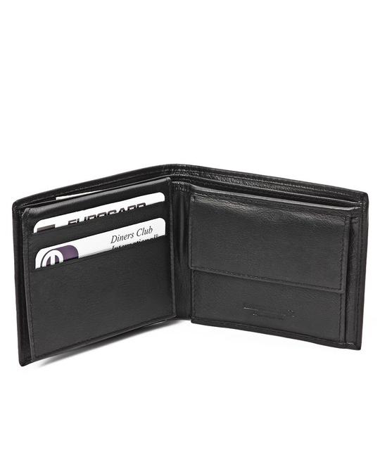 GENUINE LEATHER WALLETS-BLACK