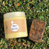 Plain Shea Butter + 200g Black Soap Combo