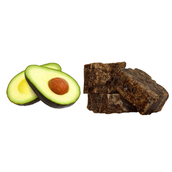Avocado Oil infused Shea Butter + 200g Black Soap