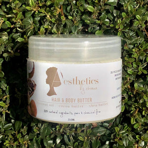 350ml Hair and body butter