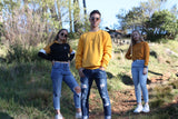 Axle Mustard Crew Neck-Localizedrsa -Enhance your RSA online shopping experience with localizedrsa, with 10 shopping departments to choose from!-Buy online in South Africa-www.localizedrsa.co.za