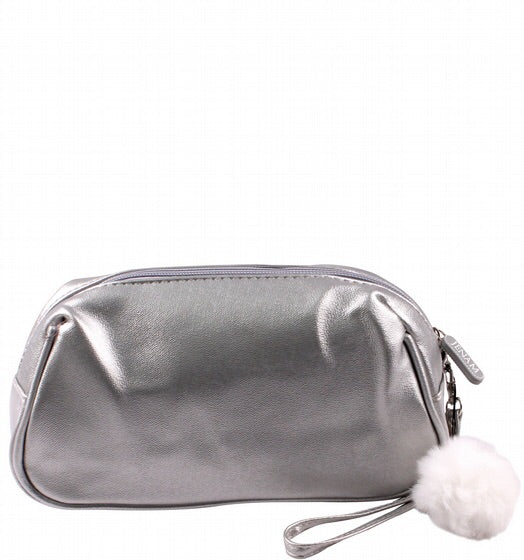 Jenam metallic cosbag & pom-pom cosbag (13 x 14 x 9 cm)-Localizedrsa -Enhance your RSA online shopping experience with localizedrsa, with 10 shopping departments to choose from!-Buy online in South Africa-www.localizedrsa.co.za