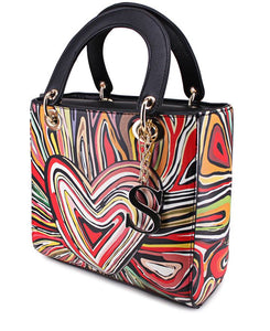 ABSTRACT TOTE BAG - MULTI-Localizedrsa -Enhance your RSA online shopping experience with localizedrsa, with 10 shopping departments to choose from!-Buy online in South Africa-www.localizedrsa.co.za