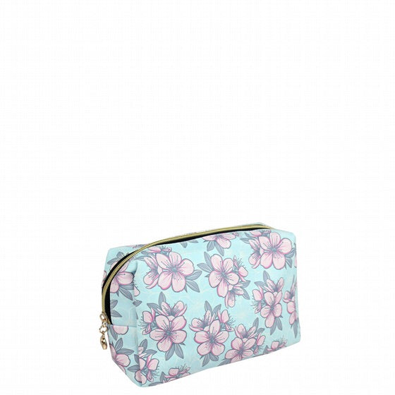 Pink Petals Make-Up Bag - 13 x 6 x 7.5cm-Localizedrsa -Enhance your RSA online shopping experience with localizedrsa, with 10 shopping departments to choose from!-Buy online in South Africa-www.localizedrsa.co.za