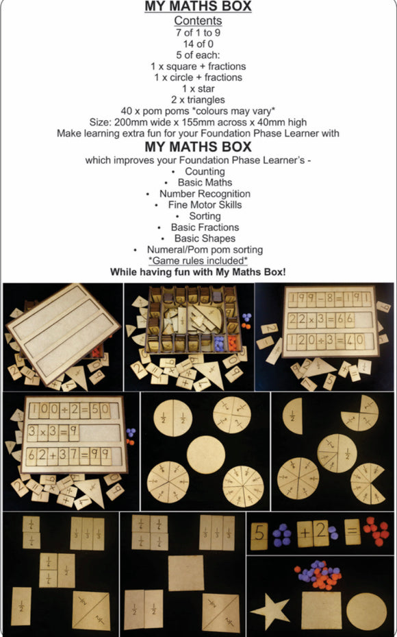 My Maths Box-Localizedrsa -Enhance your RSA online shopping experience with localizedrsa, with 10 shopping departments to choose from!-Buy online in South Africa-www.localizedrsa.co.za