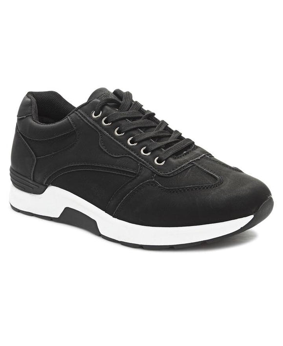 MEN'S CASUAL SNEAKERS - BLACK-Localizedrsa -Enhance your RSA online shopping experience with localizedrsa, with 10 shopping departments to choose from!-Buy online in South Africa-www.localizedrsa.co.za
