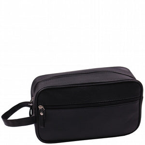 Gents mock leather wash bag (27 x 9 x 16cm)-Localizedrsa -Enhance your RSA online shopping experience with localizedrsa, with 10 shopping departments to choose from!-Buy online in South Africa-www.localizedrsa.co.za