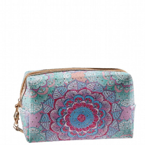 Cosmetic Bag - Floral Bag (13 x 9 x 18cm)-Localizedrsa -Enhance your RSA online shopping experience with localizedrsa, with 10 shopping departments to choose from!-Buy online in South Africa-www.localizedrsa.co.za