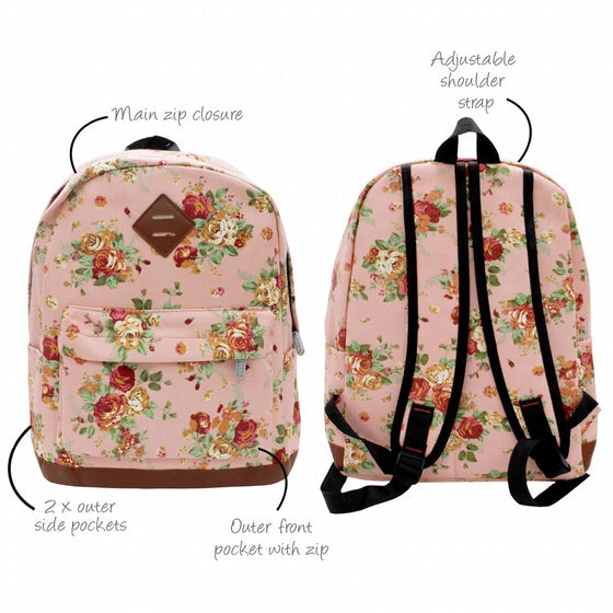 Jenam canvas backpack bouquet-Localizedrsa -Enhance your RSA online shopping experience with localizedrsa, with 10 shopping departments to choose from!-Buy online in South Africa-www.localizedrsa.co.za