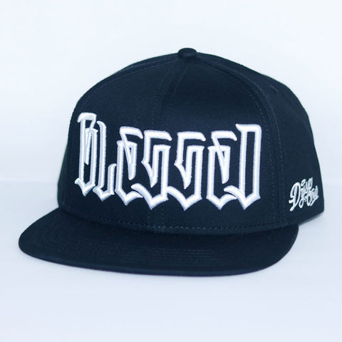 NEW* BLESSED HAT SNAP BACK BLACK