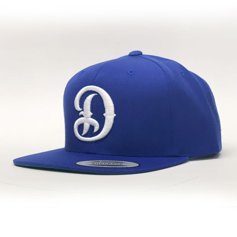 Dyse One Big D Hat Snap Back Royal