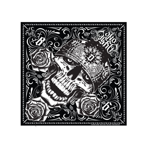 Dyse One Skully Bandana Black