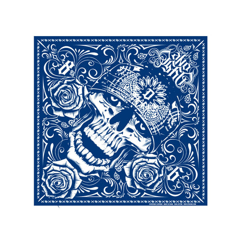 Dyse One Skully Bandana Blue
