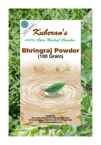 herbal bhirangaraj hair powder