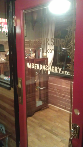 Barberside Inside Door