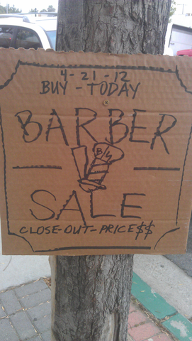 Barberside Sale