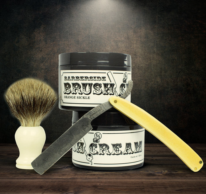 Brush Shaving Cream