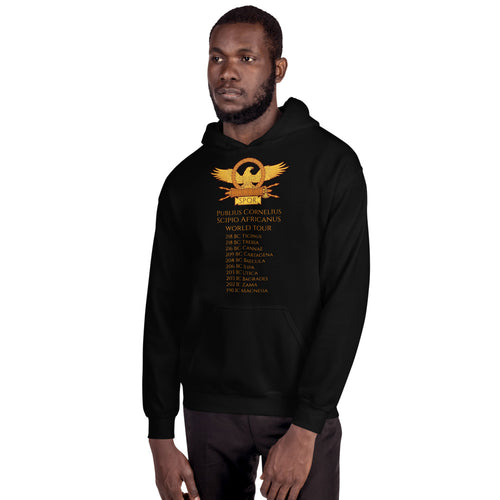 Publius Cornelius Scipio Second Punic War hoodie