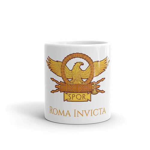Roma Invicta SPQR Ancient Rome Coffee Mug