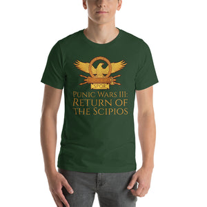 Third Punic War: Return Of The Scipios - Short-Sleeve Unisex T-Shirt