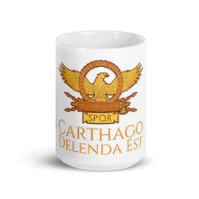Load image into Gallery viewer, Carthago Delenda Est - Ancient Rome Coffee Mug