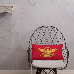 SPQR Roman Eagle Premium Pillow