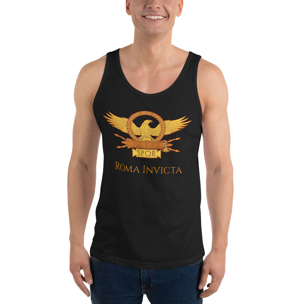 Roma Invicta tank top muscle shirt