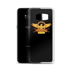 Roman Eagle Black Samsung Case