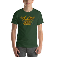 Load image into Gallery viewer, Roman Eagle SPQR Legionary Aquila Short-Sleeve Unisex T-Shirt