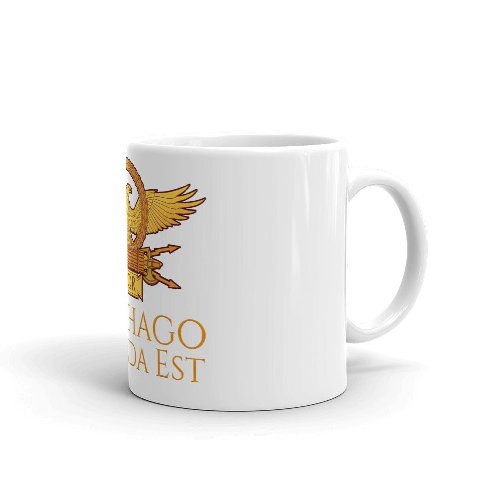 Carthago Delenda Est - Ancient Rome Coffee Mug