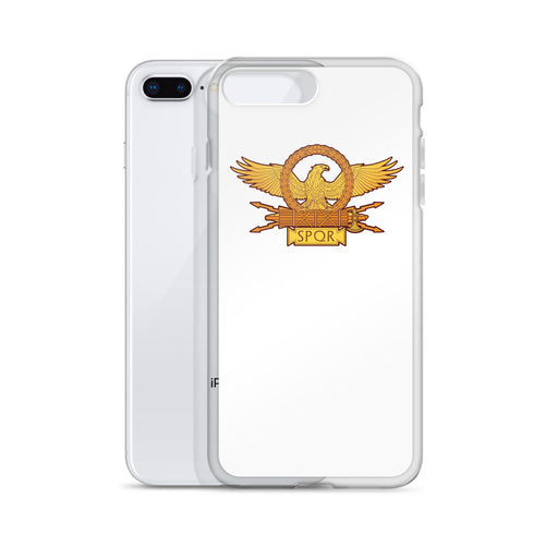 Roman Eagle White iPhone Case