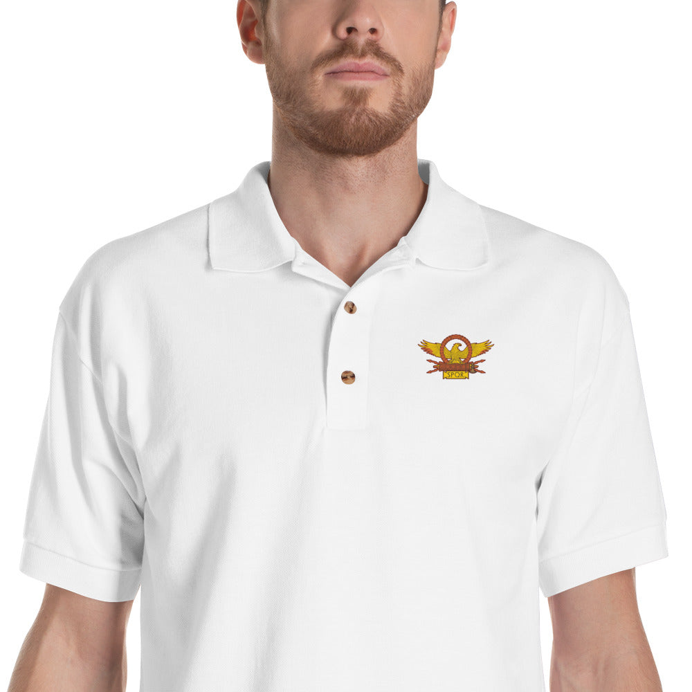 SPQR polo shirt