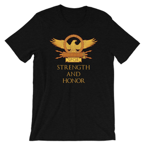 Strength and honor SPQR Rome shirt