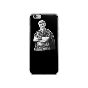 Gaius Julius Caesar Portrait Ancient Rome iPhone Case