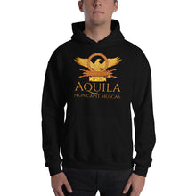 Load image into Gallery viewer, Aquila Non Capit Muscas - Roman eagle hoodie