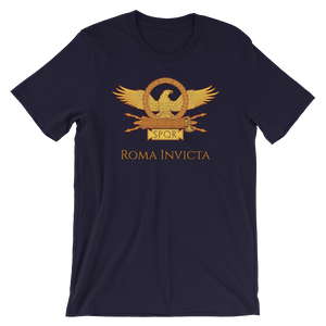 Roma Invicta Inspirational Short-Sleeve Unisex T-Shirt