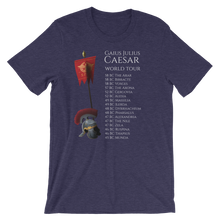 Load image into Gallery viewer, Gaius Julius Caesar World Tour - Ancient Rome Short-Sleeve Unisex T-Shirt