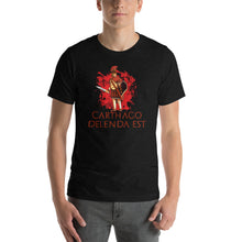 Load image into Gallery viewer, Carthago Delenda Est - Roman Legionary Short-Sleeve Unisex T-Shirt