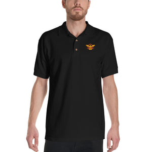 Roman Eagle SPQR - Embroidered Polo Shirt