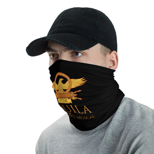 Aquila Non Capit Muscas - The Eagle Does Not Catch Flies - Roman Eagle Anti Barbarian Neck Gaiter