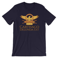 Load image into Gallery viewer, Carthago Delenda Est - Ancient Rome Short-Sleeve Unisex T-Shirt