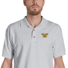 Load image into Gallery viewer, Roman Eagle - Ancient Rome Embroidered Polo Shirt