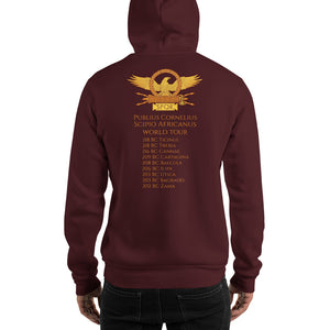 Scipio Africanus World Tour - Second Punic War - Double Sided Unisex Hoodie